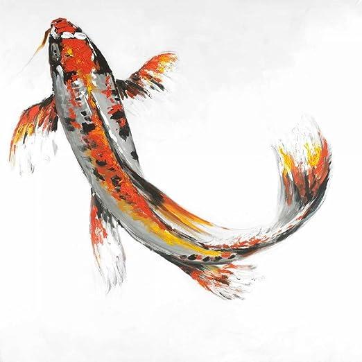 Amazon Com Butterfly Koi Fish Poster Print By Atelier B Art Studio 12 X 12 Posters Prints
