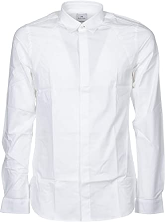 Paul Smith Luxury Fashion Hombre M2R367SA200401 Blanco Camisa | Temporada Outlet: Amazon.es: Ropa y accesorios