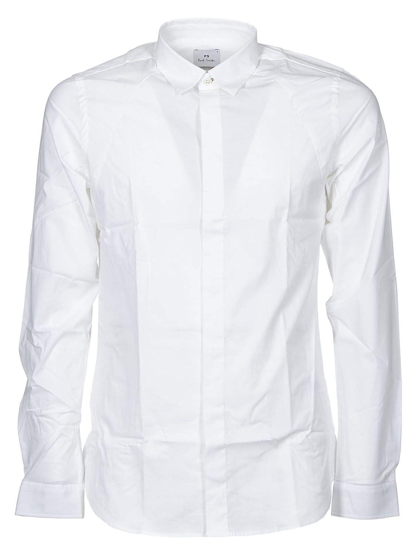 Paul Smith Luxury Fashion Hombre M2R367SA200401 Blanco Camisa ...