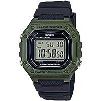 Casio Rectangle Digital Dial Watch For Men - W-218H-3AVEF