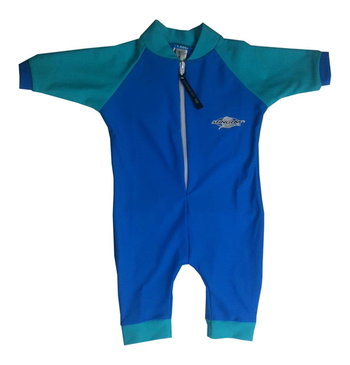 Stingray Australia Baby UV Sun Protection Romper Bathing Suit- Royal Jade size 1 ST2000-AQ