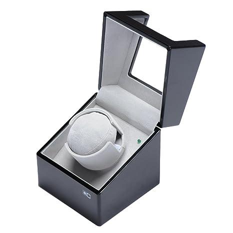 lwban de caja automático relojes automática relojes 1 + 0 Reloj Clasico – Expositor giratorio caja