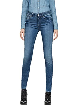 Raw Skinny WmnJeans Star G High DonnaAmazon Shape Super IYmy67bfgv