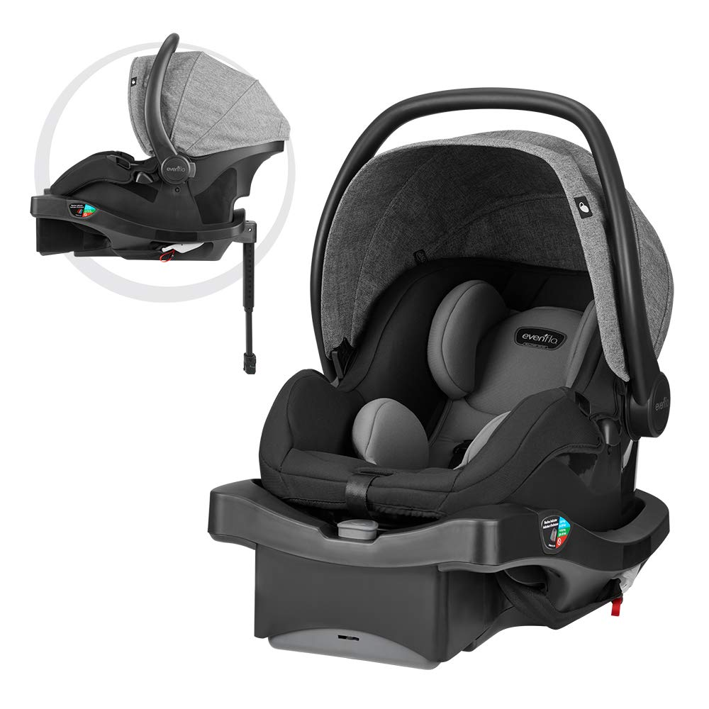 Evenflo LiteMax DLX Infant Car Seat, Meteorite