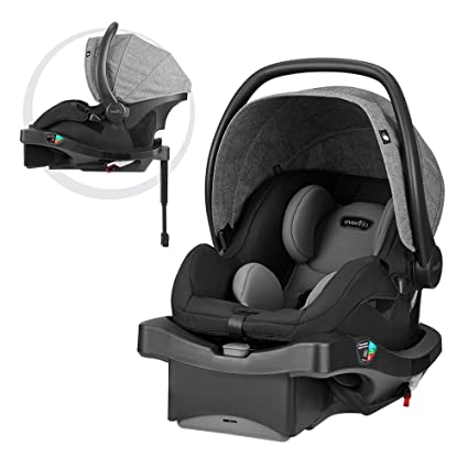 Evenflo LiteMax DLX Infant Car Seat - The Most Durable Seat