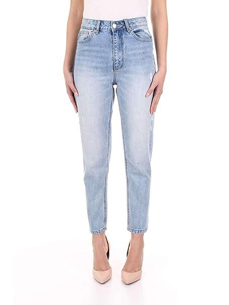 Vero Moda 10211012 Pantalones Vaqueros Mujer Lav. Claro 30 ...