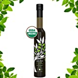 USDA Organic ICE PRESSED Extra Virgin OLIVE OIL (Ice Pressed is 30x Colder Than Standard Cold Pressed Olive Oil) Paleo, Vegan, Gluten Free, USDA Organic, RAW -NEW 2018 Harvest-