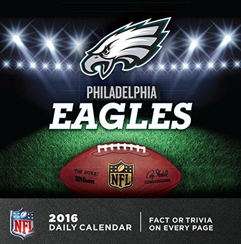 Turner Philadelphia Eagles 2016 Box Calendar, January-December (8051450)