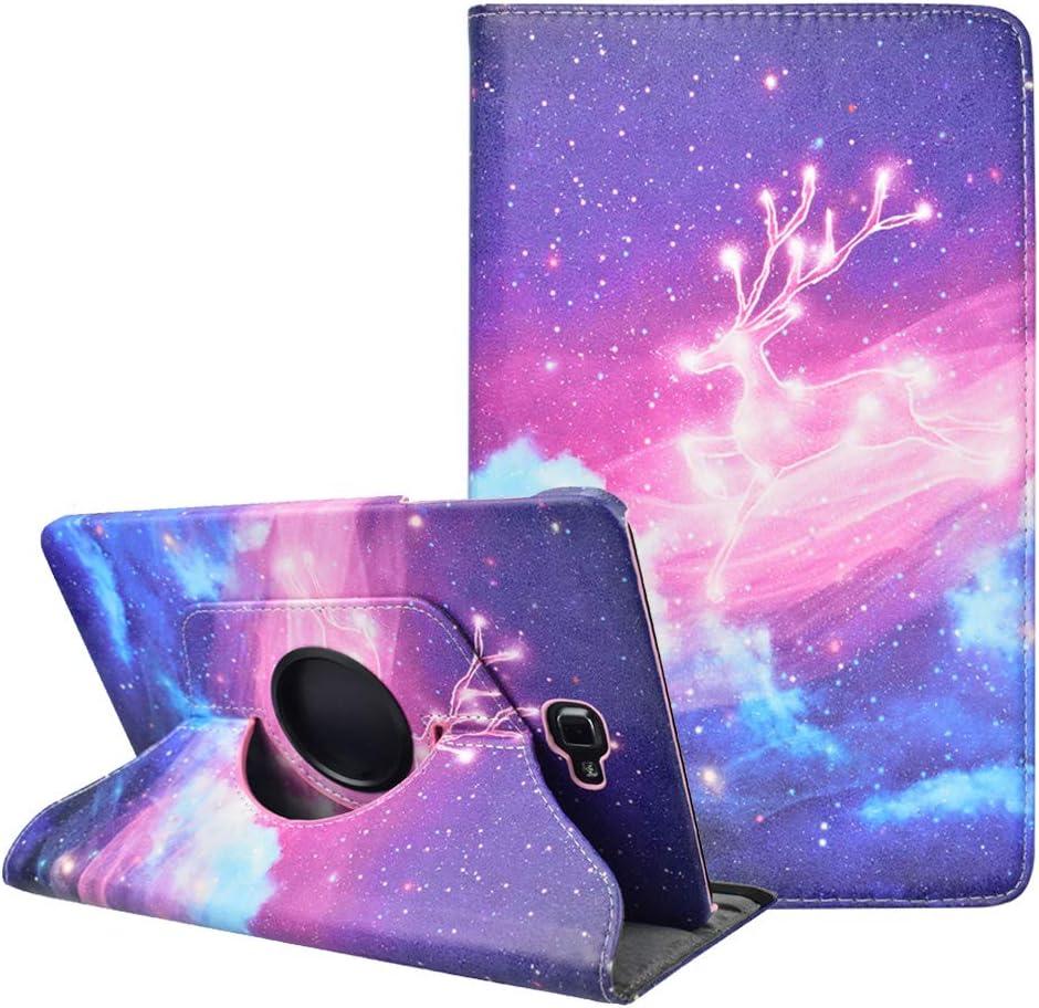 KATUMO Funda para Samsung Galaxy Tab A 10.1 2016 SM-T580/T585 Cover con Soporte Función Tab A6 10.1 2016 Carcasa Galaxy Tab A 10.1 2016 SM-T580/T585 Case