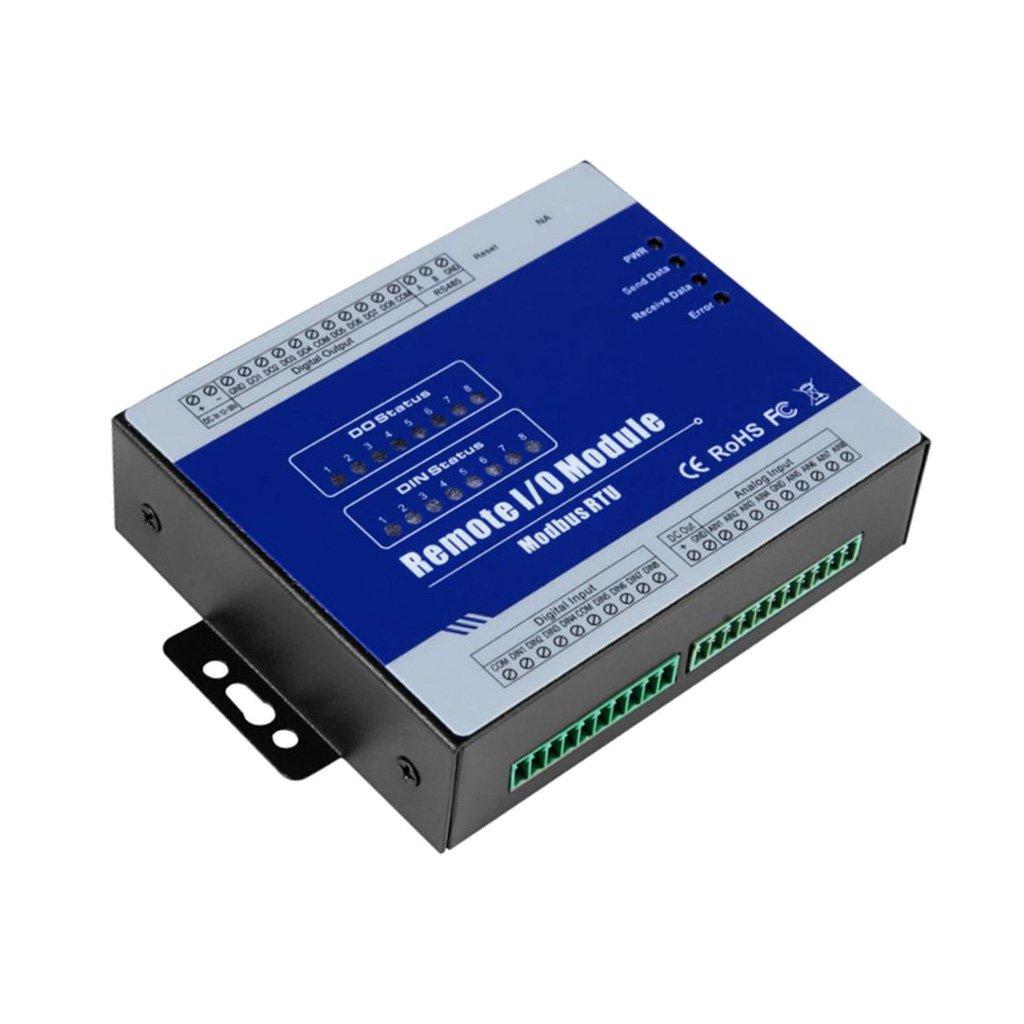 SunniMix 高性能 M320 Modbus リモート IO モジュール 8DO データ収集モジュール 高安定性   B07CKBWL9K