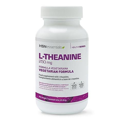Teanina de HSN Essentials 250 mg - A partir del Té Verde - Suplemento para la