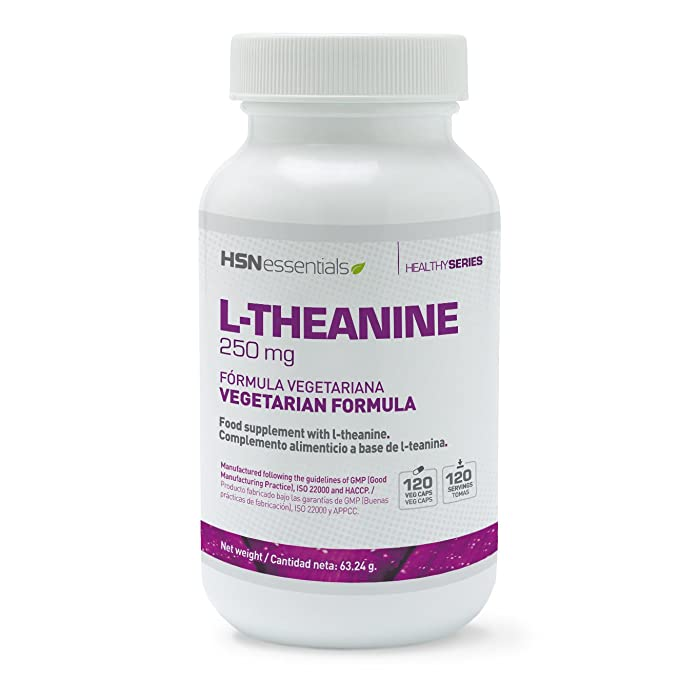 HSN Essentials - L-TEANINA 250mg - 120 veg caps: Amazon.es: Salud y cuidado personal
