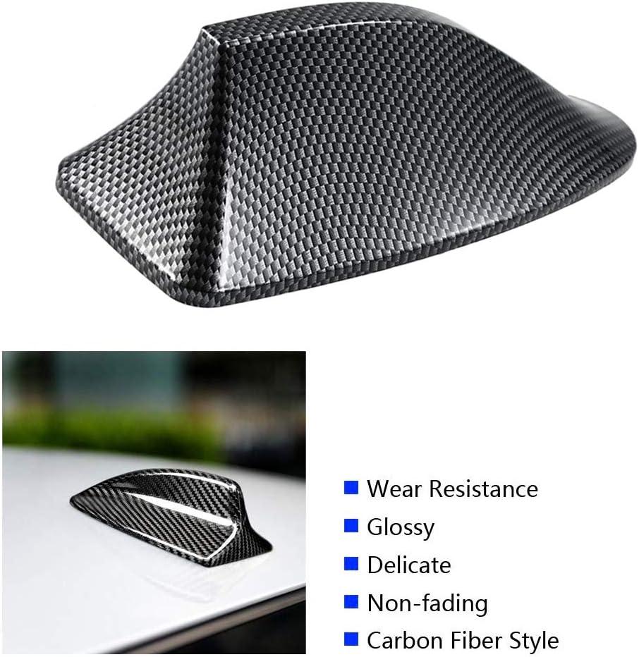 KKmoon Autoantenne Haifischflosse Radomo Universal Carbon Fiber