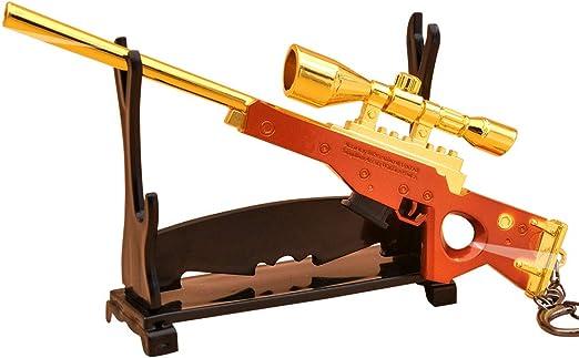 Amazon Com Azlink Golden Gun Backpack Pendant For Fort Nite Player Bartley Bolt Action Sniper Rifle Legendary Guns Toys Alloy Metal Sinper Rifle Game Party Supplies Collection Gift Golden Bartley Clothing