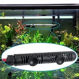 Zacro Submersible Aquarium Heater with Visible Temperature, 50W