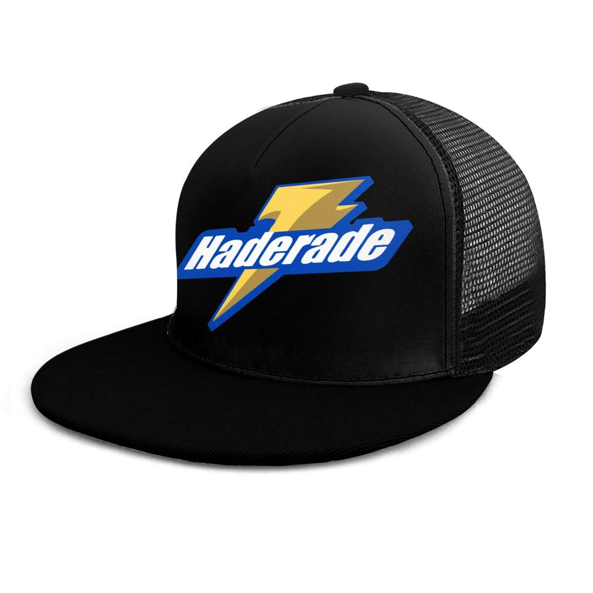 Casual Plain Milwaukee Haderade Dad Hats Unisex Adjustable Baseball Cap Black