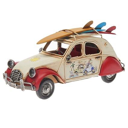 Pamer-Toys Tin Model Car - in Antique-Vintage-Retro-Style - length