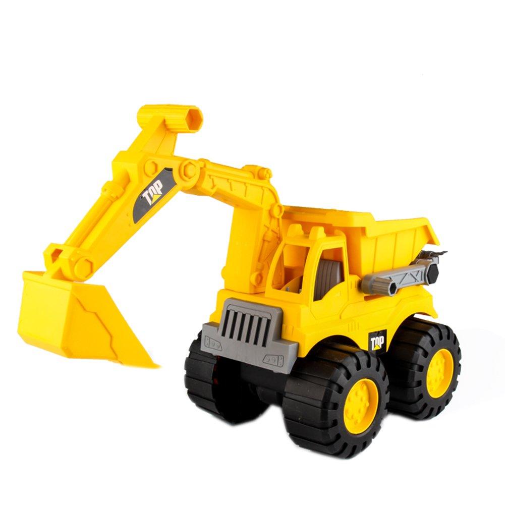 Childen's Day boys toy Simulation car lift trucks model
