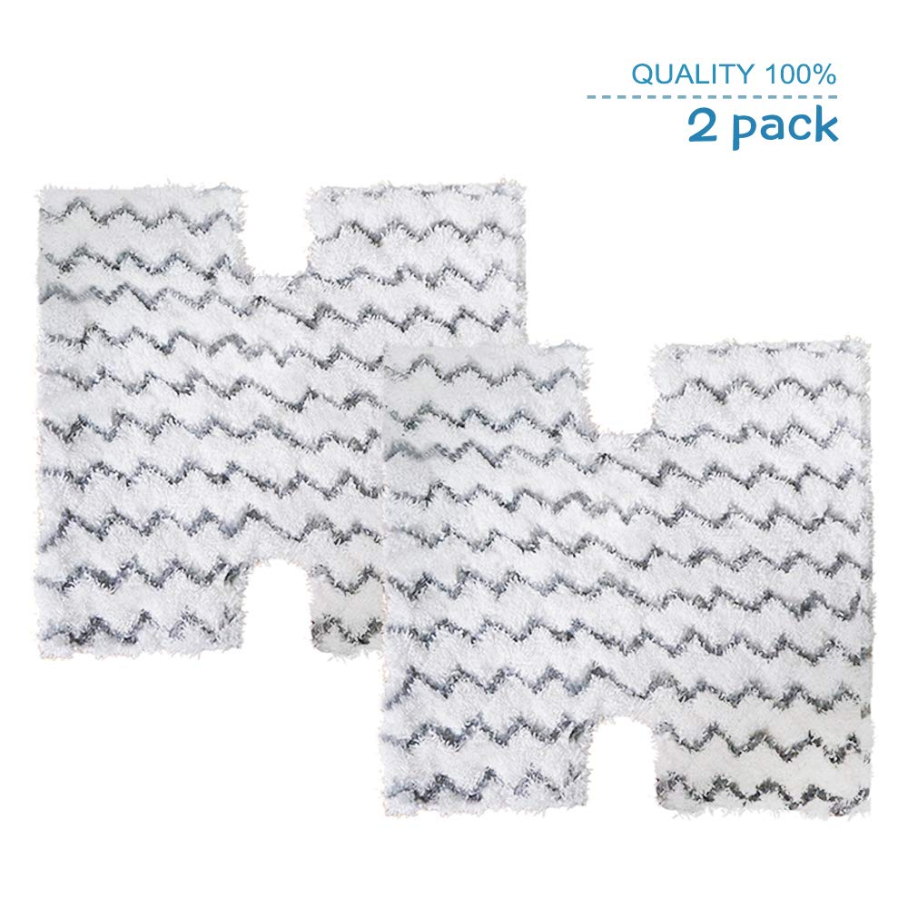 2-Pack Replacement Steaming Mop Pads for Shark Lift-Away Pro Steam Pocket Mop & Genius Steam Pocket Mop Series|Compare to Shark Part XTP184 by StrengthMix