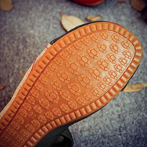 CHUANGLI Women Embroidery Casual Mary Jane Flats Vintage Round Toe Cheongsam Dress Shoes IpKBDoYE