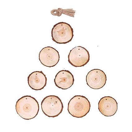 Decoración para colgar árbol de Navidad, Lovewe 10 piezas de ...