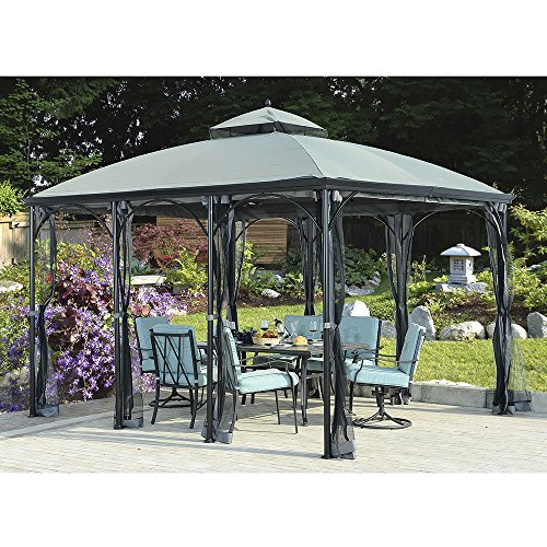(Sunjoy Replacement Canopy Set for SomerSet Gazebo)