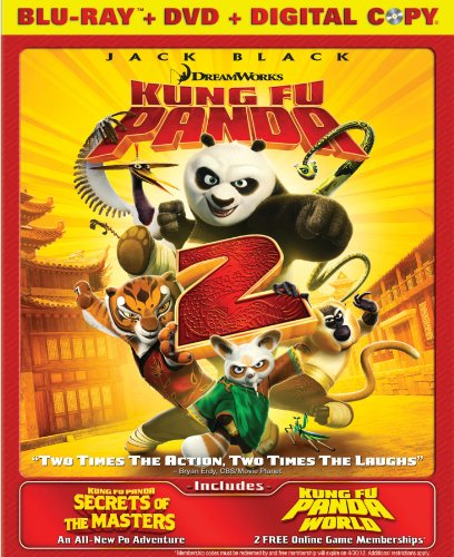 Kung Fu Panda 2 / Secrets of the Masters (Two-Disc Blu-ray/DVD Combo)