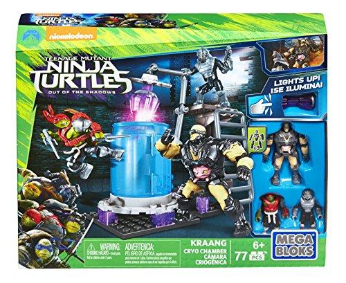TORTUGAS NINJA - Juegos de construcción, cámara del Krang (Mattel DRK00)