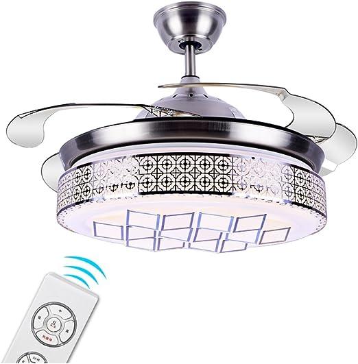 Luces del ventilador retráctil del techo del LED Luces del ...