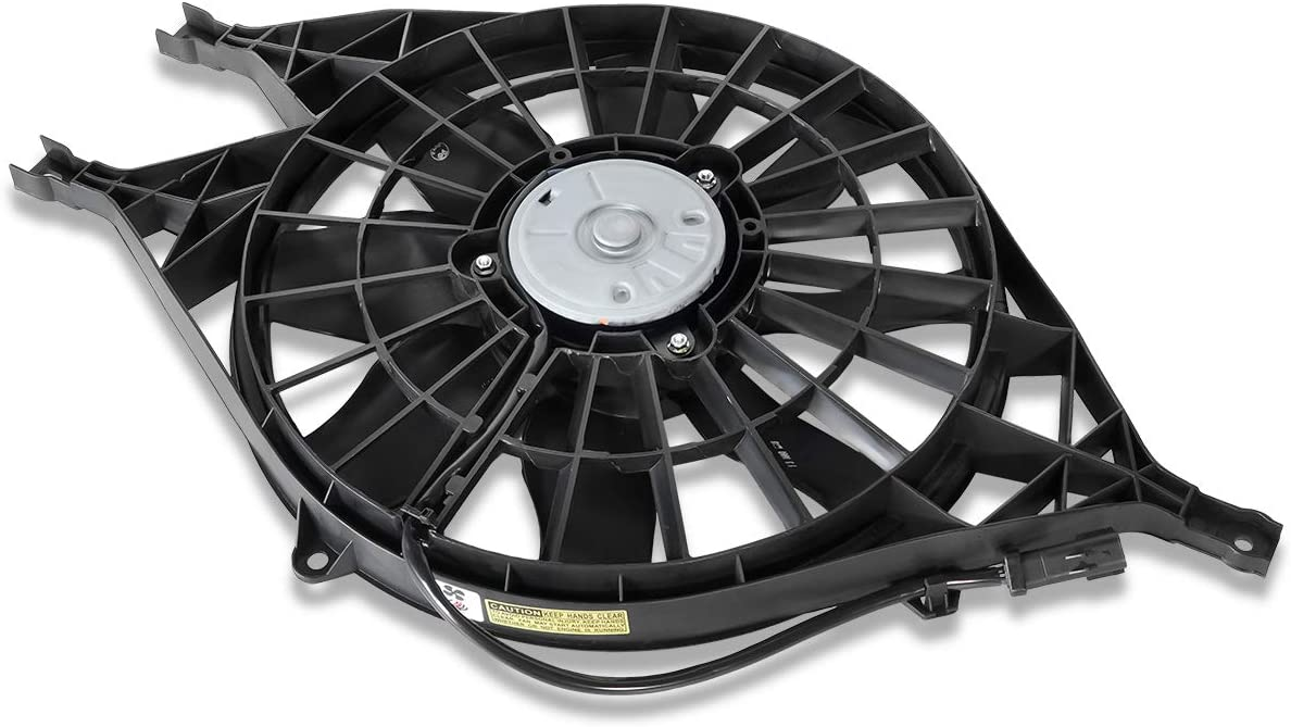 CH3115119 OE Style Radiator Cooling Fan Assembly Replacement for Dodge Dakota Durano 2.5L-5.9L 98-04