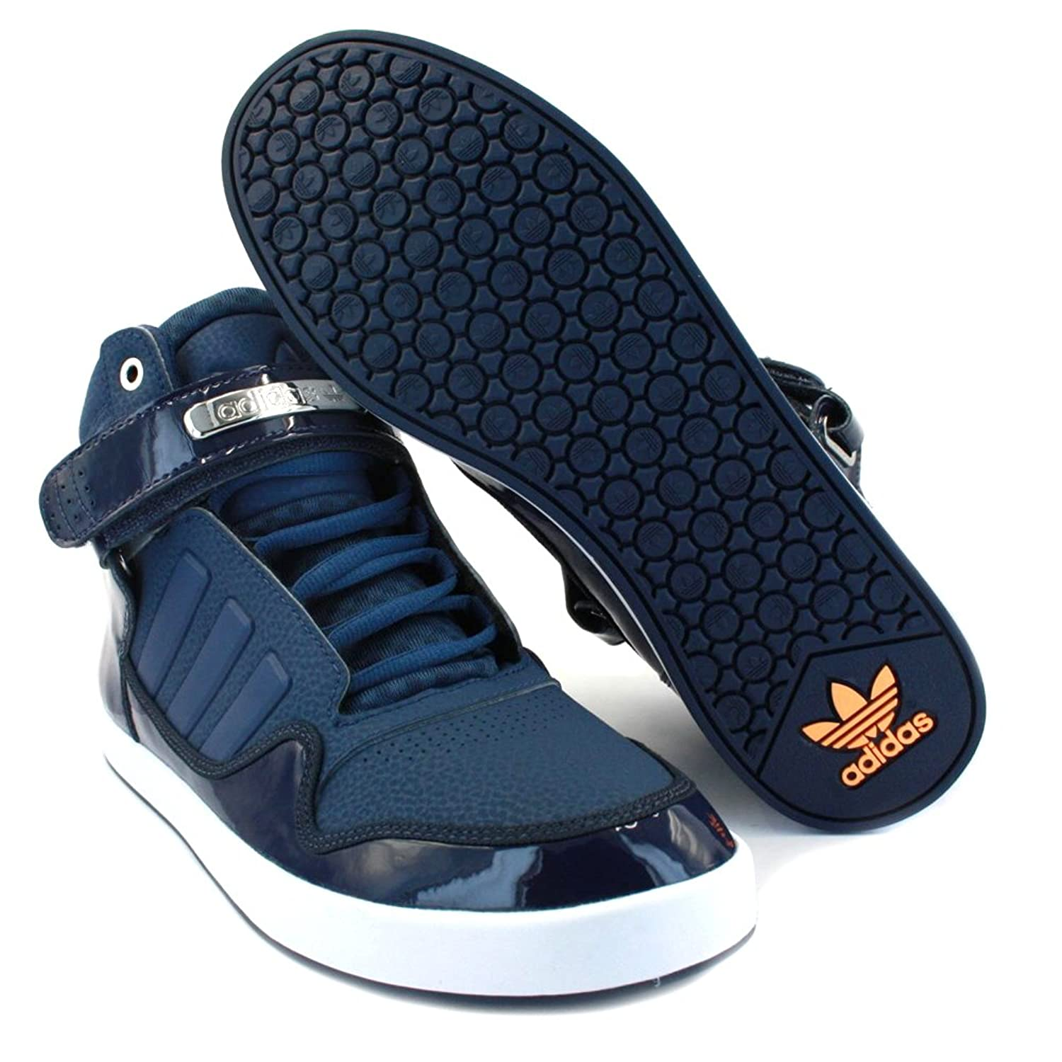 Adidas Originals Adi Rise 2.0 Mens Leather Trainers Navy White - 8:  Amazon.co.uk: Shoes & Bags