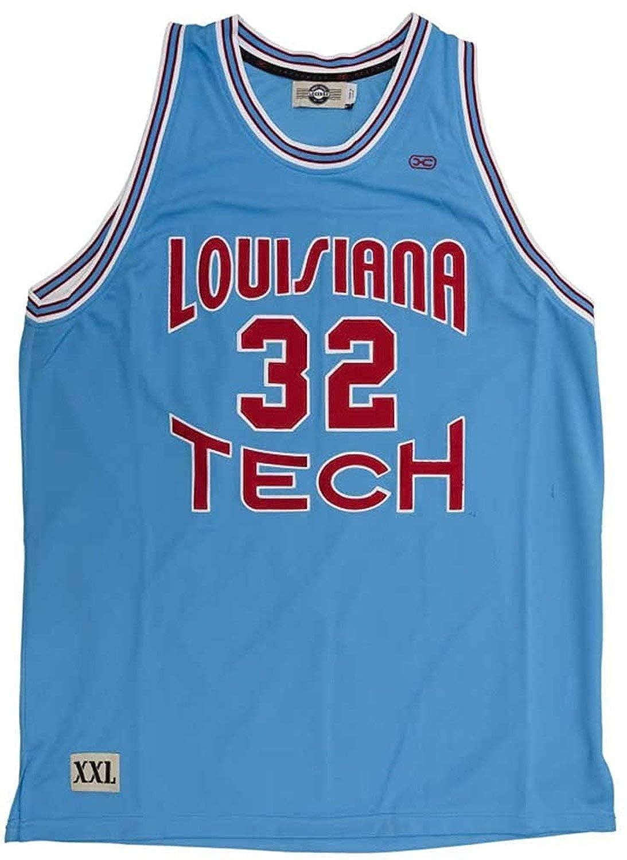 big sale d70f8 86400 Amazon.com: Headmaster Campuswear Karl Malone #32 Louisiana ...