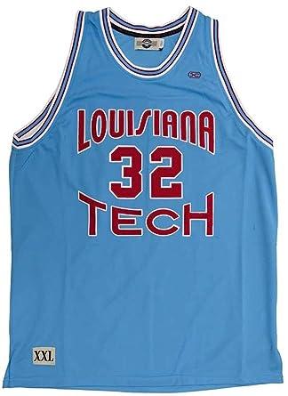 big sale bad72 a3a66 Amazon.com: Headmaster Campuswear Karl Malone #32 Louisiana ...