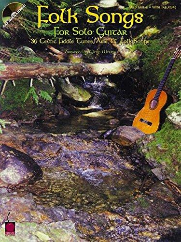 Folk Songs for Solo Guitar: 36 Celtic Fiddle Tunes, Airs & Folk (Cherry Lane Folk Sheet Music)