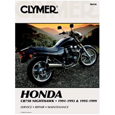 clymer 91 99 honda cb750 service manual 91 Cb750 Chopper Wiring Diagram