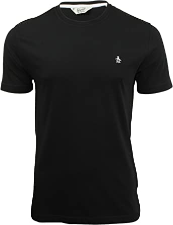 ORIGINAL PENGUIN Mens Pinpoint Long Sleeve T-Shirt
