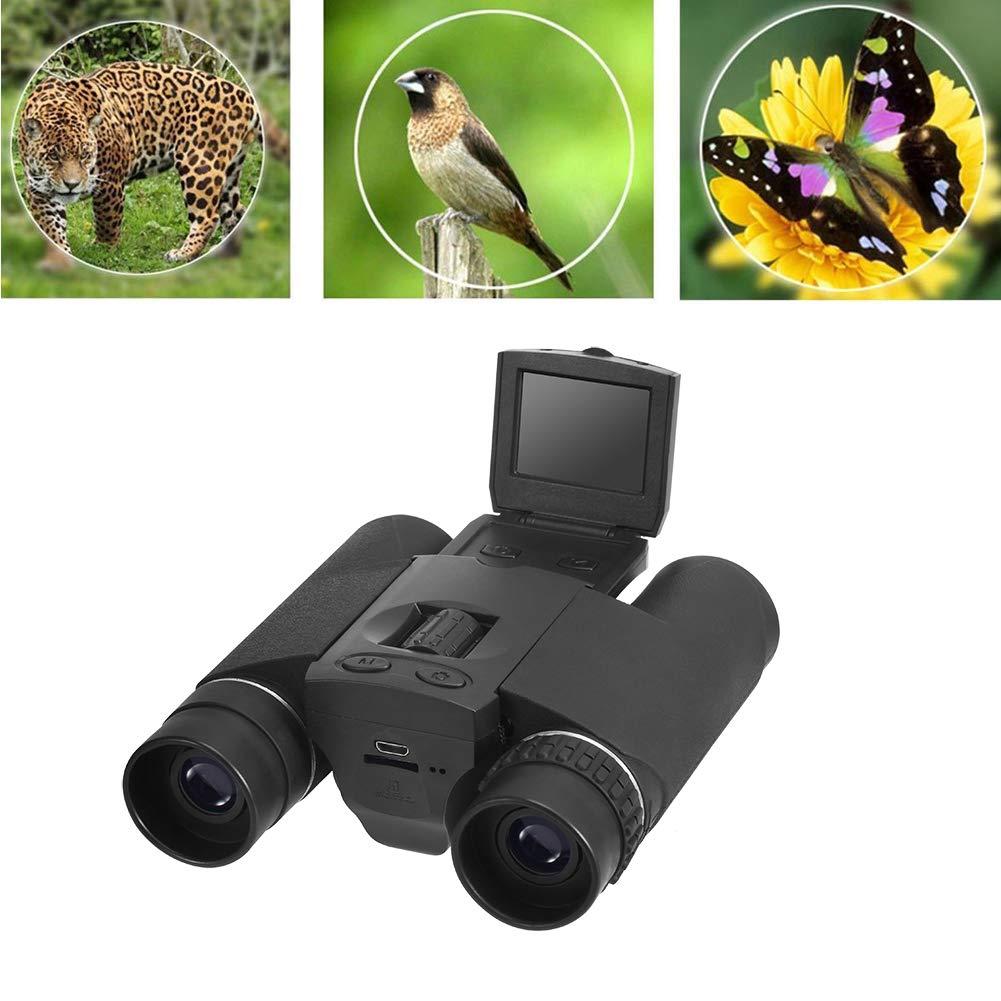 【未使用品】 HD双眼鏡ポータブルデジタルカメラ1.5インチ液晶モニターバッテリーローバッテリー残念ながら長距離を観戦するサッカーの試合のコンサート(ブラック) B07QDSY6NV B07QDSY6NV, 名川町:4d09b023 --- agiven.com