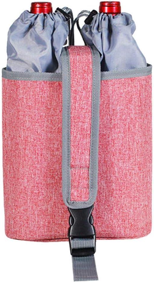 Bolsa de caldera de lona Bolsa de almacenamiento de taza de haz,bolsa de vino gruesa con cordón impermeable de Oxford