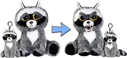 Amazon Com Feisty Pets Plush Rascal Rampage Raccoon And Mini