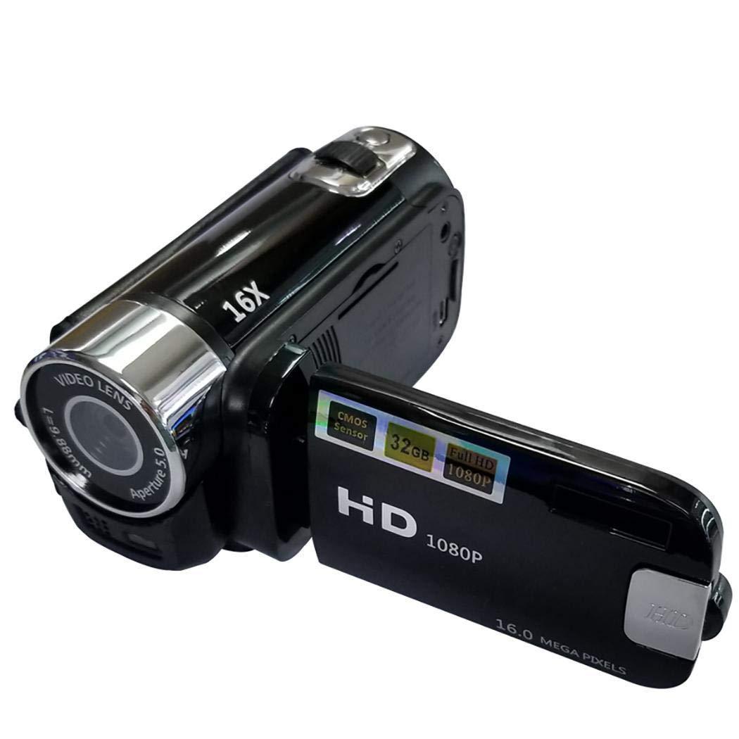 Lunir 1080P Anti-Shake Digital Camera Professional Video Record Camera Gifts Digital Cameras