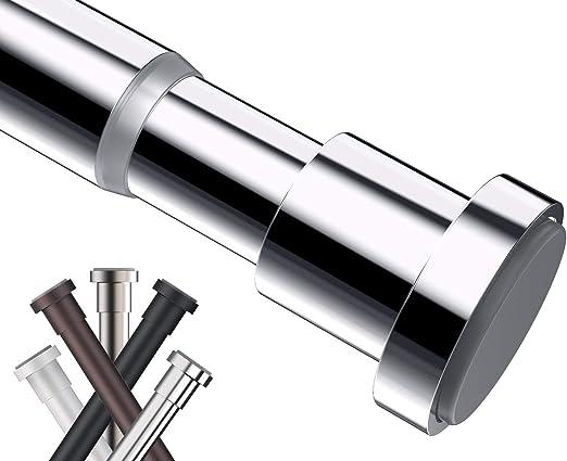 Amazon Com Briofox Tension Curtain Rod 43 73 Inches Never Rust