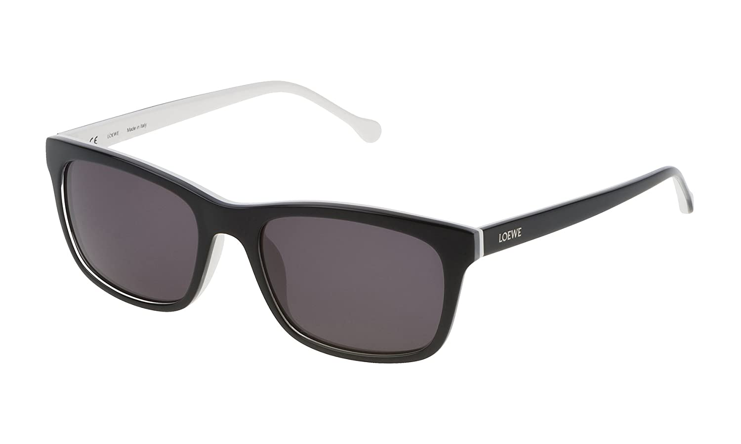 Loewe SLW941M5506MP Gafas de Sol, Black/White/Crystal, 55 ...
