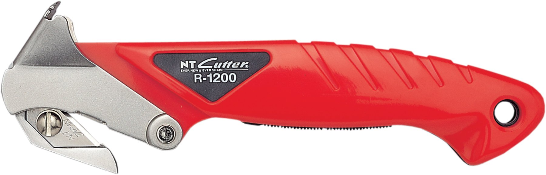 NT Cutter Safety Carton Opener with Staple Remover, 1 Opener (R-1200P)