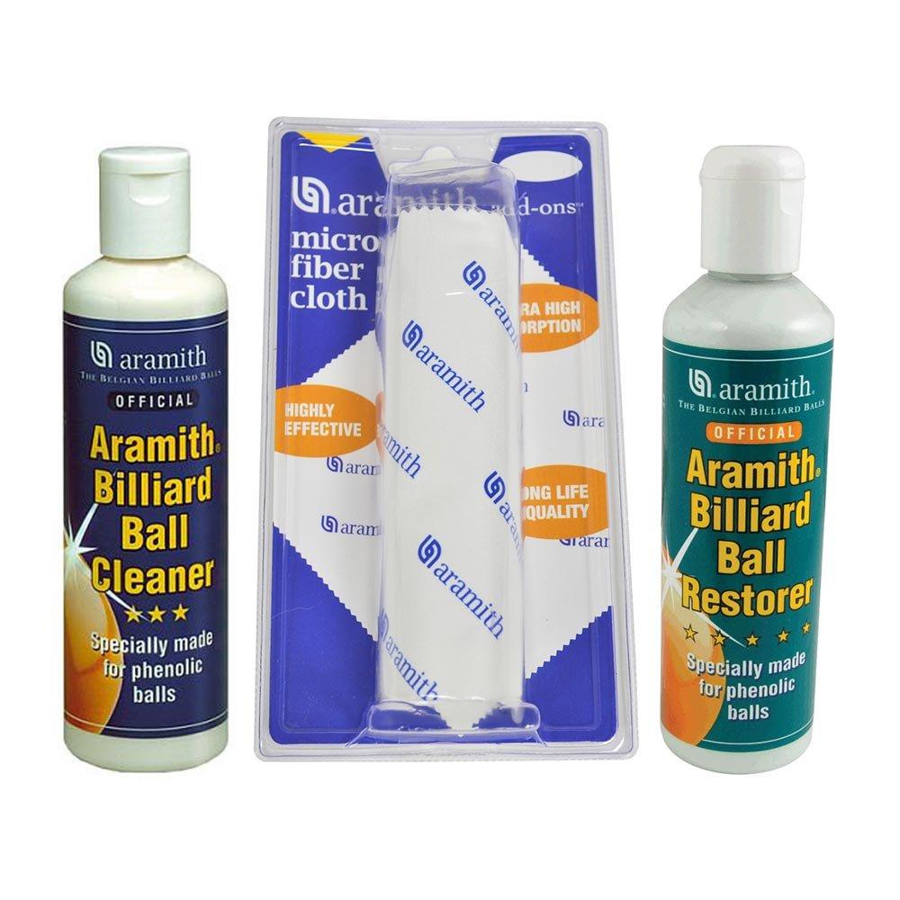 Aramith Pool Ball Cleaner and Towel Kit by Aramith