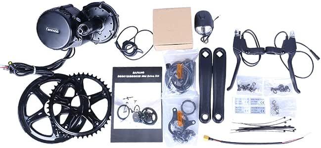 Bafang Juego de Bicicletas eléctricas BBS01B 350W 48V Mediados de Motor de Bicicleta de montaña Kit de conversión Bicicleta de conversión Ebike Kit