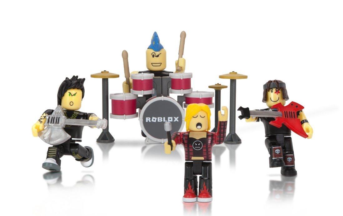 Juguete figura Roblox  muñeco Pack Punk Rockers