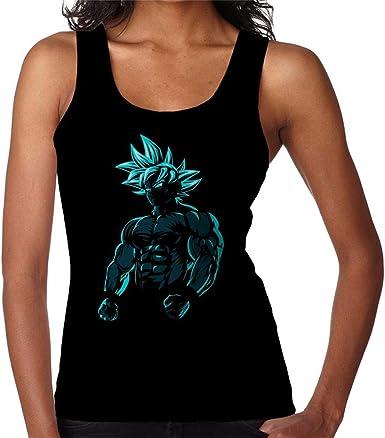 Culturista Goku Migatte Dragon Ball Z Womens Vest: Amazon.es ...