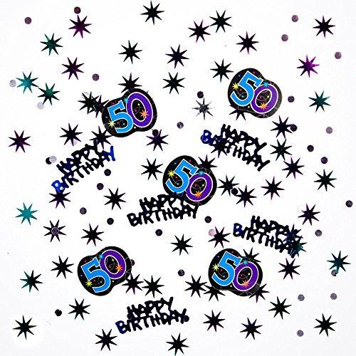 50th Birthday Confetti - 7