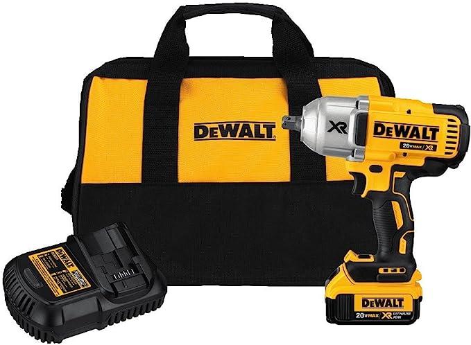 Dewalt 20v Max Xr Impact Wrench Kit Brushless High Torque Detent Pin Anvil 1 2 Inch Dcf899m1 Amazon Com