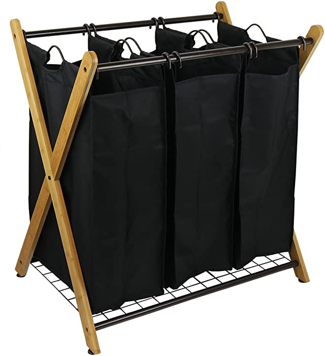 The Best Wowlive 2 Section Laundry Basket Xframe